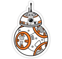 """BB8"" Stickers by wss3 