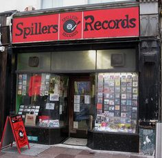 Spillers Records, Cardiff - The Oldest Record Shop In the World.