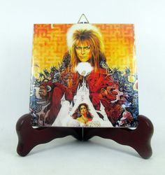 Labyrinth 30th Anniversary collectible ceramic tile David Bowie limited edition #davidbowie #labyrinth #cultmovie