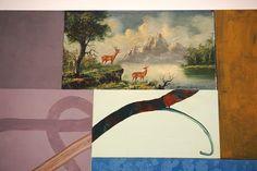 """Cuadro de ciervos"", Juan Giralt en el Museo Reina Sofía #Madrid #Arte #Art #ArteContempóraneo #ContemporaryArt  #Arterecord 2015 https://twitter.com/arterecord"