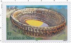 Timbre : 2002 Les arènes de Nîmes | WikiTimbres