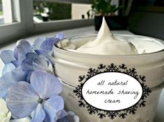 All Natural Homemade Shaving Cream