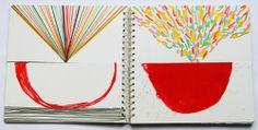Herve Tullet: The Big Book of Art: Hervé Tullet: 9780714863498: Amazon.com: Books Up Book, Book Art, Tribu Masai, Doodle, Herve, Teaching Art, Teaching Ideas, Book Reader, Painting Patterns