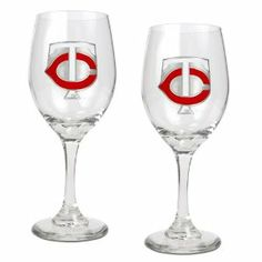 Minnesota Twins MLB 2pc Wine Glass Set - Primary Logo by Great American Products. $35.00. Usually ships within 5-7 business days.