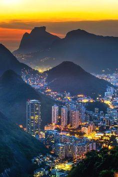 Brazil night city - Travel tips - Travel tour - travel ideas Brazil Vacation, Oahu Vacation, Brazil Travel, Vacation Places, Mexico Travel, Vacation Spots, Travel Tours, Travel Usa, Luxury Travel