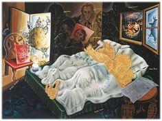 Surreal Symbolism Paintings, Jörg Immendorff Art Gallery