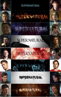 Sam and Dean Winchester ... our men for all seasons! #supernatural