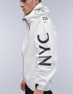 UEG Tyvek® NYC Zip-Up Jacket