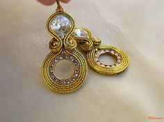 Ridgways / Hoop Collection - Gold ...soutache