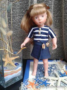 """просто """"Полосатый"""" топик / Одежда и обувь для кукол - своими руками и не только / Бэйбики. Куклы фото. Одежда для кукол"""