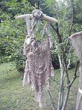 AUTHENTIC MAGNOLIA PEARL Lovely Vintage CROCHET TUNIC TOP Tattered Style RARE