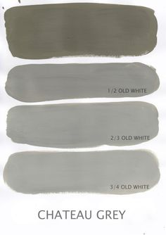 Chateau Grey....room color...