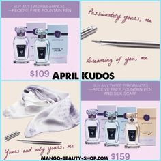 April 2018 Kudos - Customer Launch Younique Fragrances
