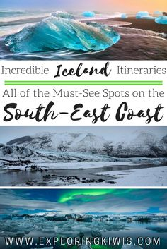Incredible Iceland in the winter - the only South East Coast Itinerary for the Ring Road you'll need!