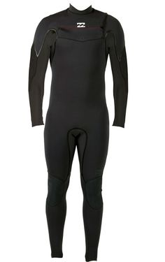 64a6c7265e Billabong Xero Revolution 302 Men s Chest Zip 3 2mm Full Wetsuit - Black -  The