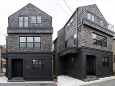 Style At Home, Black Building, English House, Brick Patterns, Home Hacks, Townhouse, Luxury Homes, Architecture Design, New Homes