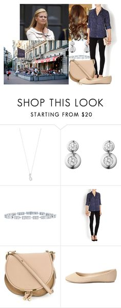 """""""Having lunch with Madeleine at Sturehof and catching up on wedding plans"""" by swedish-princess ❤ liked on Polyvore featuring Georg Jensen, Harry Winston, Diane Von Furstenberg, Chloé and Charlotte Russe"""
