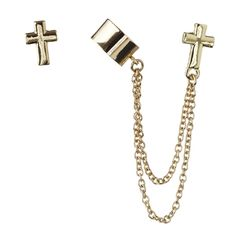 one word. GORGEOUS. Gold Cross, Cufflinks, Earrings, Stuff To Buy, Accessories, Fashion, La Mode, Wedding Cufflinks, Fashion Illustrations