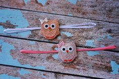 Who's Woo Silver or Gold Owl Headband  Owl by MySweetPeaCouture