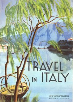 Travel in Italy, 1934