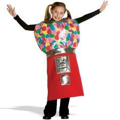 Bubble Gum Machine Child Costume