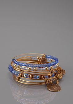 ALEX AND ANI Tree of Life Bangle Set