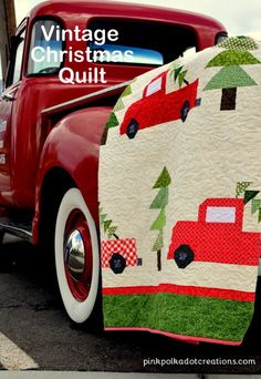 I have my Vintage Christmas Quilt all done and it is so fun along side of all of my Vintage Christmas Trucks!This was a fun quilt to make even though it had a million pieces! (That might be a slight exaggeration!) But it does have a lot of little pieces to piece together. My friend … Continue reading Vintage Christmas Quilt →