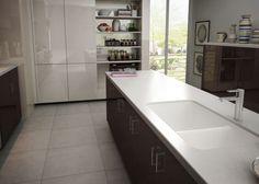 LG HI MACS Countertops   Silence R640 Solid Surface Countertops, Kitchen  Countertops, Macs