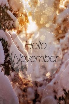 Image about love in Hello Months by Angel on We Heart It Hello November November Tumblr, Hello December Quotes, November Images, November Pictures, Winter Pictures, Hallo November, Welcome November, November Month, Hello September