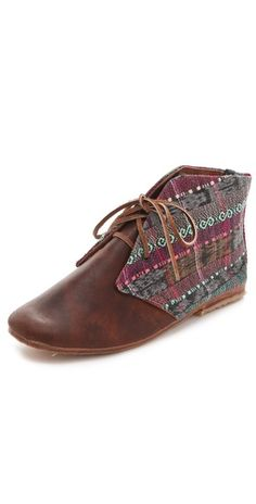 Osborn Lace Up Booties - so hipster, but I love them!