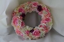kwiatowy wianek, zapraszam DZIEDZICKA DEKORACJE