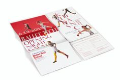 Ballet Tech 2013 Gala by Vivi Feng, via Behance