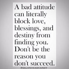 How often do we see people with great potential that have let a bad attitude ruin them? They complain constantly, blame everything on everyone else, think the grass is always greener, and want everything handed to them. We boost up the positive attitudes, the hard workers & the truly deserving! We lift up those that lift us up with them! Positivity only! All others move along! #salonheadcandy #motivation #nofilter #love #happy #gratitude #follow #attitude #positivity #positiveattitude