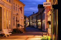 Sjøgata in Mosjøen in Norway. Photo: Fabrice Molichau