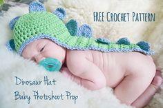 Animal Hat Crochet Patterns Dino