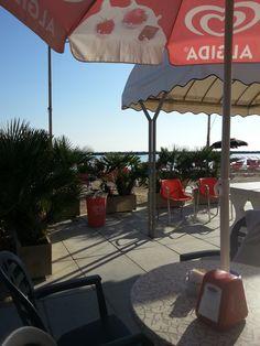 Settembre - Hotel COLA direttamente sul mare - Direkt am Meer - Right to the sea Am Meer, Patio, Outdoor Decor, Home Decor, Decoration Home, Room Decor, Home Interior Design, Home Decoration, Terrace
