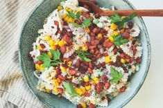 Pastasalat med bacon, majs og ærter i Ranch-dressing – Mummum.dk Bacon, Cobb Salad, Pork Belly