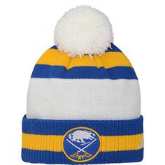 official photos 7e77d 5f814 adidas Youth 2018 Winter Classic Buffalo Sabres Cuff Pom Knit Beanie