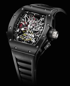 Richard Mille tourbillon split second chronograph Felipe Massa Gents Watches, Cool Watches, Rolex Watches, Watches For Men, Richard Mille, Skeleton Watches, Expensive Watches, Hand Watch, Pulsar