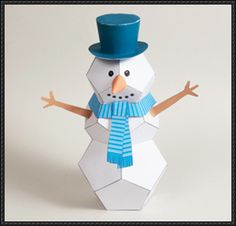Snowman, DIY and crafts and Templates