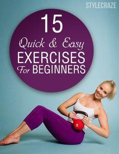 15 Easy Exercises For Beginners - Medi Blaster