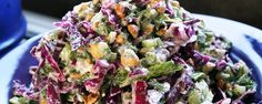 Purple Cabbage Salad with Blue Cheese and Hazelnuts Recipe | MUNCHIES