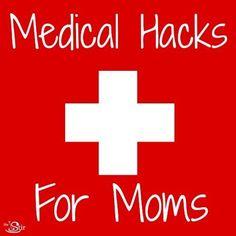 Medical hacks for moms http://thestir.cafemom.com/toddlers_preschoolers/180738/medical_hacks_moms_sick_kid?utm_medium=sm&utm_source=pinterest&utm_content=thestir