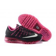 Män Nike Air Zoom Winflo 2 I Svart Röd Läder Löparskor