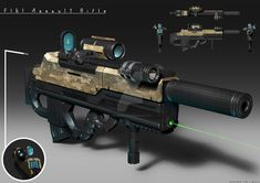 FI61 Assault Rifle by FrostKnight-IcE