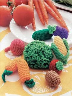 Food Amigurumi pattern - Food Amigurumi - Ice Box Crochet - Crochet Pretend Play Food