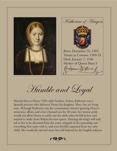 Katherine of Aragon, 1st wife of Henry VIII