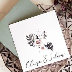 Faire-part chic 2020 : découvrez leur nouvelle collection Faire Part Vintage, Faire Part Chic, Boho Chic, Envelope, Place Card Holders, Invitations, Collection, Top, Inexpensive Wedding Invitations