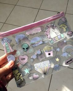 Patel kawaii purse pencil case