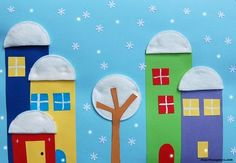 Chores for the winter Diy For Kids, Crafts For Kids, Arts And Crafts, Diy Christmas Cards, Christmas Crafts, Forest School Activities, Art Projects, Projects To Try, Ecole Art